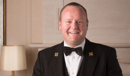 Jérémie Varry - Head Concierge of the Hotel Baur au Lac