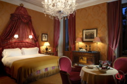 Hotel Room Photography of The Principe di Savoia in Milan, Italy