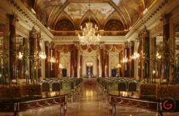 Hotel Photographers, Luxury Hotel Photography, Resort Photographer of Ritz Ballroom - St. Regis Rome, Italy