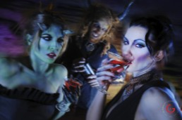 Club Scene - Eternal Beauties - Makeup By LuAndra Whitehust, Concept and Photography By Jeremy Mason McGraw
