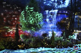 Creative Energy, Light Painting Photography from Public Art Project Electric Vision - Eureka Springs, Arkansas