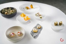 Food of 2 Michelin Star Chef Sven Wassmer at 7132 Silver