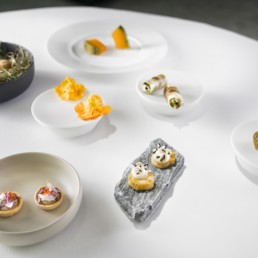 Food of 2 Michelin Star Chef Sven Wassmer at 7132 Silver - Professional Food Photography, Culinary Photographer, Restaurant Photos