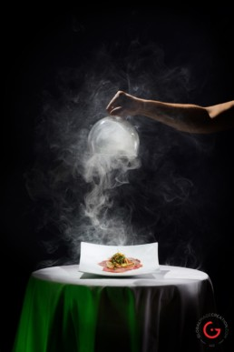 SMOKE - Dramatic Professional Food Photography at LeStick Nouveau, Eureka Springs Arkansas