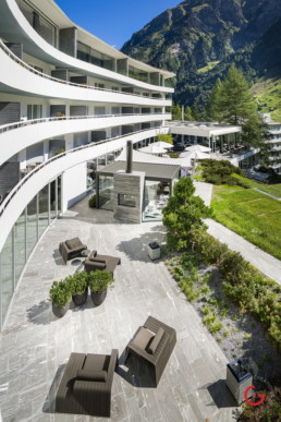 Mountain View Terrace, Hotel 7132 Vals Switzerland