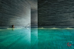 Spa Photography - Pritzker Prize Award Winning Architecture Peter Zumthor Therme Vals