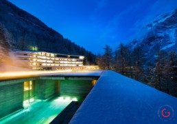 Hotel Photographers, Luxury Hotel Photography, Resort Photographer of The Therme at 7132 Hotel, Vals - Switzerland