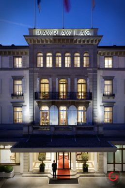 Architecture Photography of the Hotel Baur au Lac Zurich, Switzerland