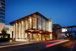 Building Photography of the Branson Convention Center, Missouri