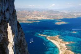Tavolara View Of Sea Near Olbia Sardinia