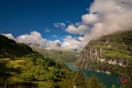 Travel Photography of a Beautiful View of the Swiss Mountains over the lake Near Zervreilasee Dam