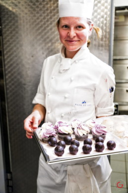 Food Photography of Pastry Chef - Hotel Baur au Lac, Zurich