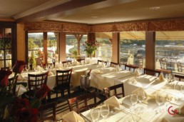Restaurant Photographer of Annex Dining Room of Candelstick Inn, Branson, MO