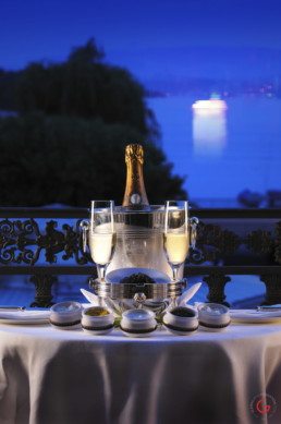 Hotel Life With Champagne and Caviar - Luxury Lifestyle Photographer - Professional Food Photography, Culinary Photographer, Restaurant Photos