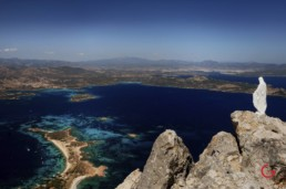 Mary's View of Olbia Sardegna from Tavolara, Italy - Travel Photographer