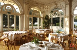 Restaurant Photographer of Main Dining Room at Hotel Des Bains, Venice Lido Italy