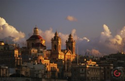 Sunset Photography on the Skyline Malta