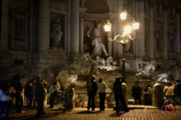 Trevi Fountain at Night - One of The Best Things to do in Rome, Italy
