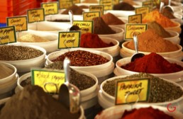 Colorful Flavors - Pictures of Spices in Australia Food Market