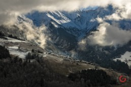 Swiss Alps Winter Village - Travel Photographer