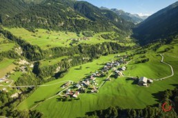 Travel Photography of Vals Switzerland Green Swiss Alps