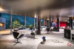 Interior Photographer - After Lighting - 7132 Silver, 2 Michelin Star Restaurant, Sven Wassmer