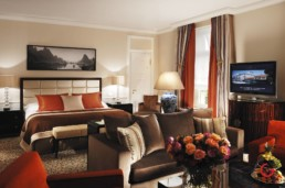 Hotel Interior Photography - After Lighting - Baur au Lac, Suite