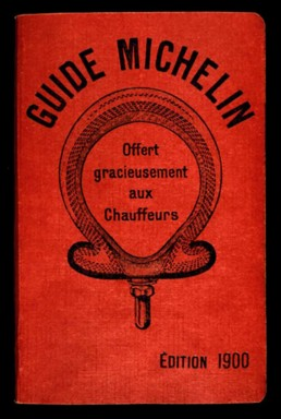 The Original Michelin Guide from 1900