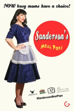 Sanderson's Meal Pops Fake News Poster - NOW Busy Moms Have a Choice!