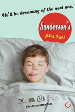 Sanderson's Meal Pops Fake News Poster - He'll Be Dreaming of The Next One.