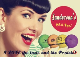 Sanderson's Meal Pops Fake News Poster - I Love the Taste AND the Protein!