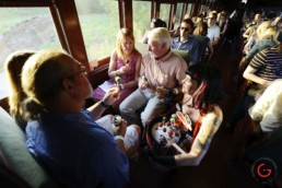 Passengers Take Their First Sanderson's Meal Pops