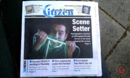 Jeremy Mason McGraw on the Cover of the Citizen