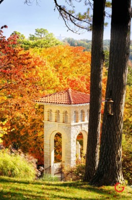 Bell Tower in the Fall - Eureka Springs, Arkansas Photography