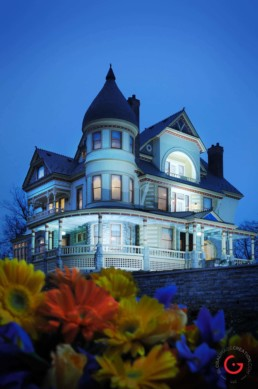The Queen Anne Mansion - Eureka Springs, Arkansas Photography