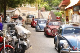 VW Parade on Spring Street - Eureka Springs, Arkansas Photography