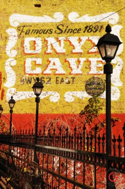 Onyx Cave Mural - Eureka Springs, Arkansas Photography