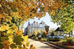 The Crescent Hotel in Autumn Leaves - Eureka Springs, Arkansas Photography