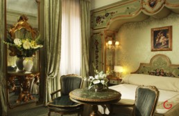 Hotel Room Photography of Room of Gritti Palace, Venice, Italy