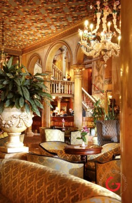 Luxury Hotel Danieli Lobby Interior Photography