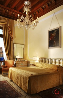 Hotel Room Photography of Gritti Palace, Venice, Italy