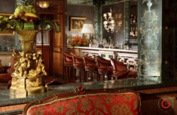 Hotel Room Photography of Bar of Gritti Palace, Venice, Italy