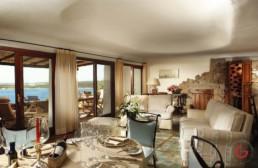 Hotel Photographers, Luxury Hotel Photography, Resort Photographer of Master Suite at Hotel Pitrizza - Costa Smeralda, Italy
