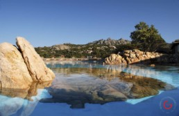 Hotel Photographers, Luxury Hotel Photography, Resort Photographer of Infinity Pool at Hotel Pitrizza - Costa Smeralda, Italy