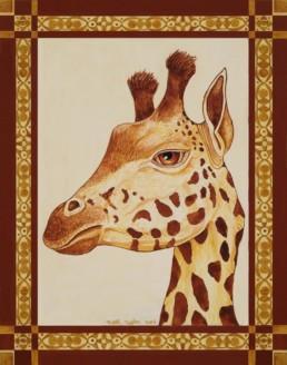 Giraffe, I spotted by Eureka Springs, Arkansas Artist Zeek Taylor.