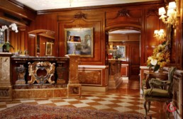 Hotel Interior Photographer Gritti Palace Front Desk