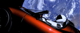 SpaceX Video Marketing Starman - Falcon Heavy Launch