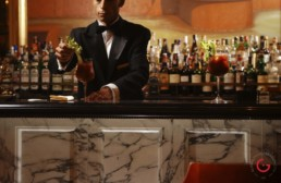 Hotel Restaurant Photography of Bar at St. Regis, Rome, Italy