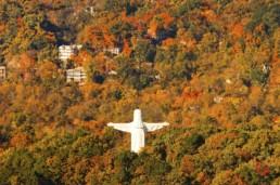 Christ in the Fall - Eureka Springs, Arkansas Photography