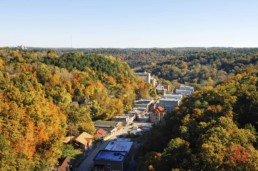 Aerial View of Downtown - Eureka Springs, Arkansas Photography